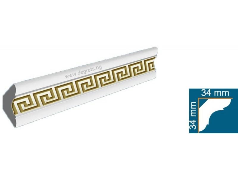 Перваз от стиропор 4502-1 Версаче Злато