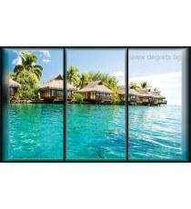 Фототапет Карибско море
