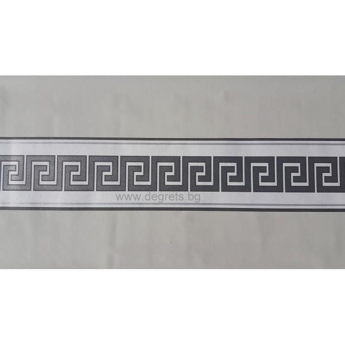 Фриз Версаче бял - сребро
