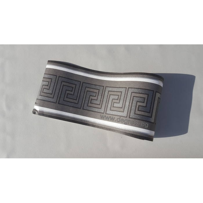 Фриз Версаче черен - сребро