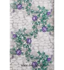 Тапет влагоустойчив Бръшлян 3D лилав