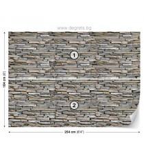 Фототапет Стена камък 2 3D L