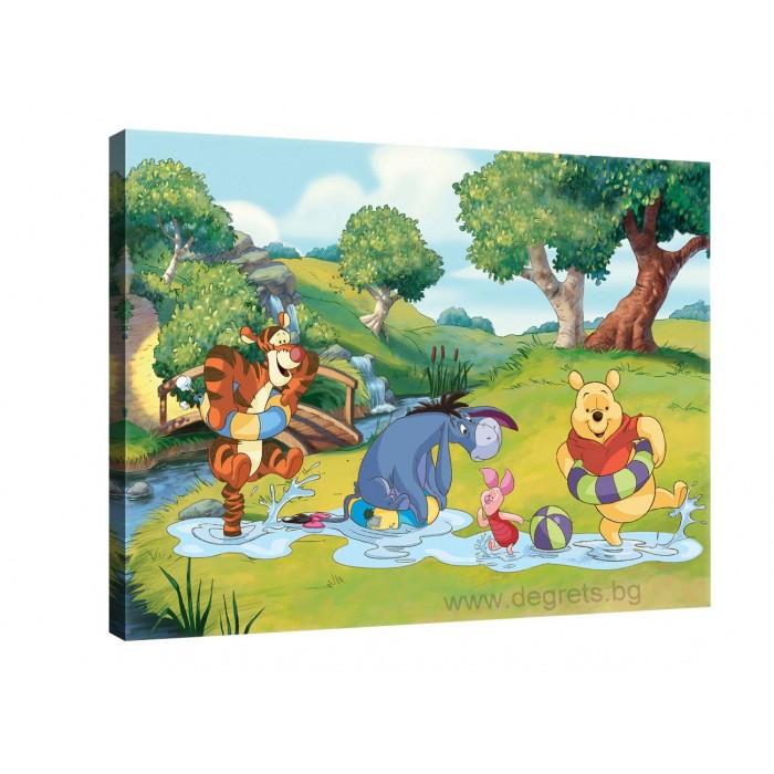 Картина Канава Мечо пух и приятели