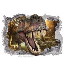 Стикер Динозавър 1 3D 65x90см