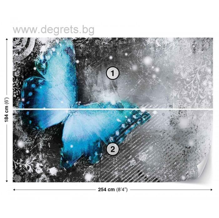 Фототапет Пеперуда винтидж