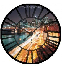 Фототапет флис Часовник Ню Йорк