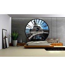 Фототапет флис Часовник Париж
