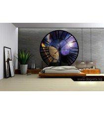 Фототапет флис Часовник Космос