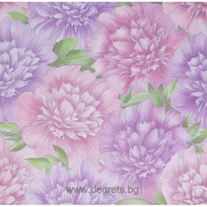 Тапет хартиен Грация розов