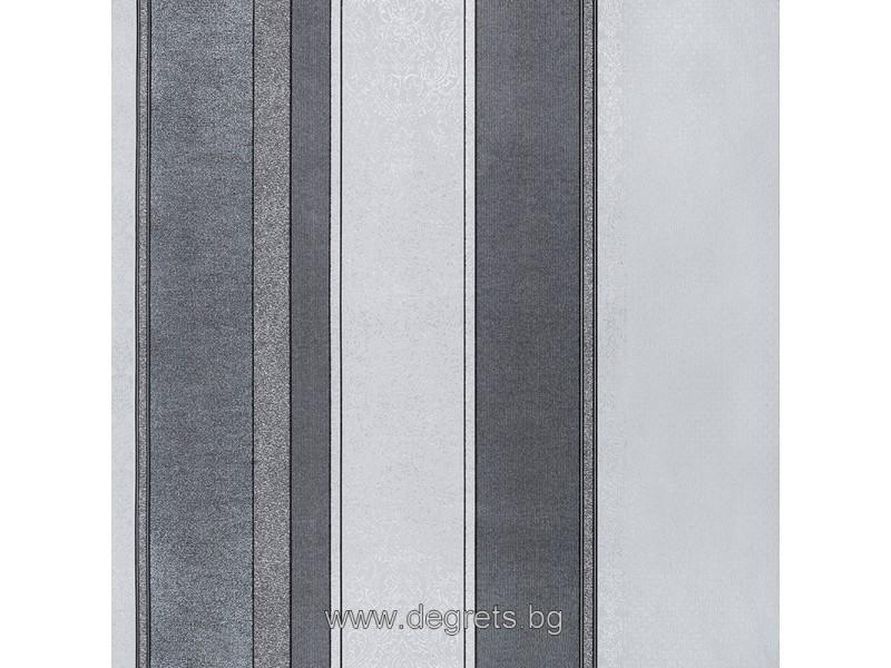 Тапет хартиен Барок райе сив