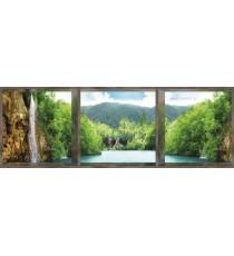 Фототапет флис Водопад при езерото 3D 4XL