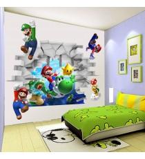 Стикер Супер Марио 3D