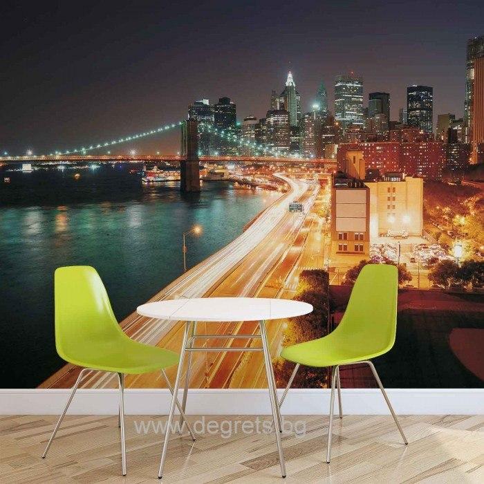 Фототапет Ню Йорк - небостъргачи