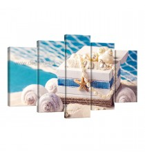 Картина Канава Морско богатство - Сет 5 части