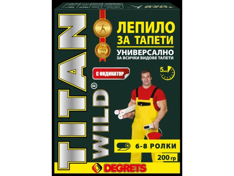 Лепило за тапети Титан 200 гр. с индикатор