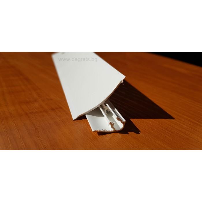Водобранна лайсна бял 3м