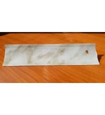 Водобранна лайсна бял Мрамор 3м