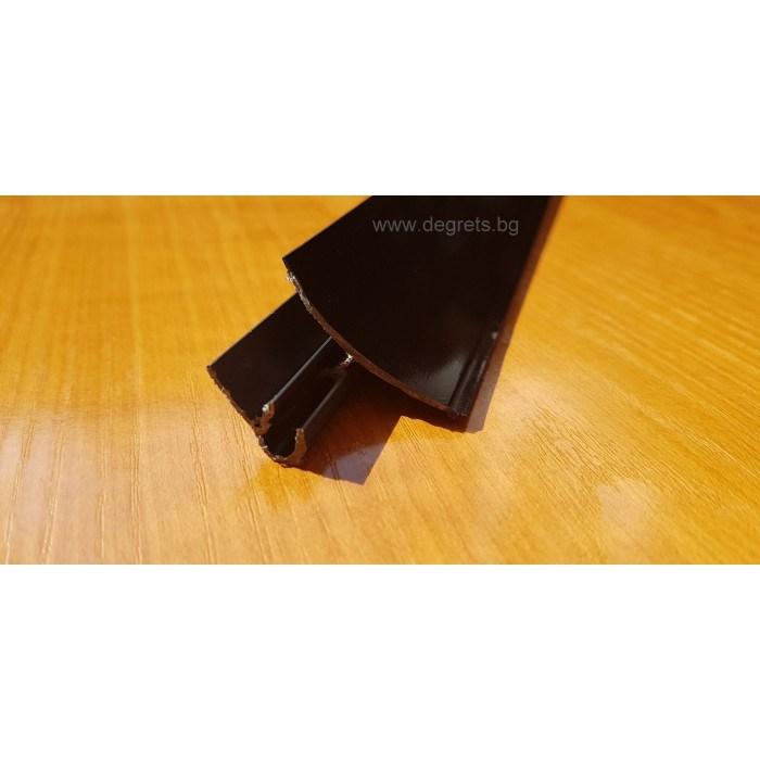 Водобранна лайсна черен 3м