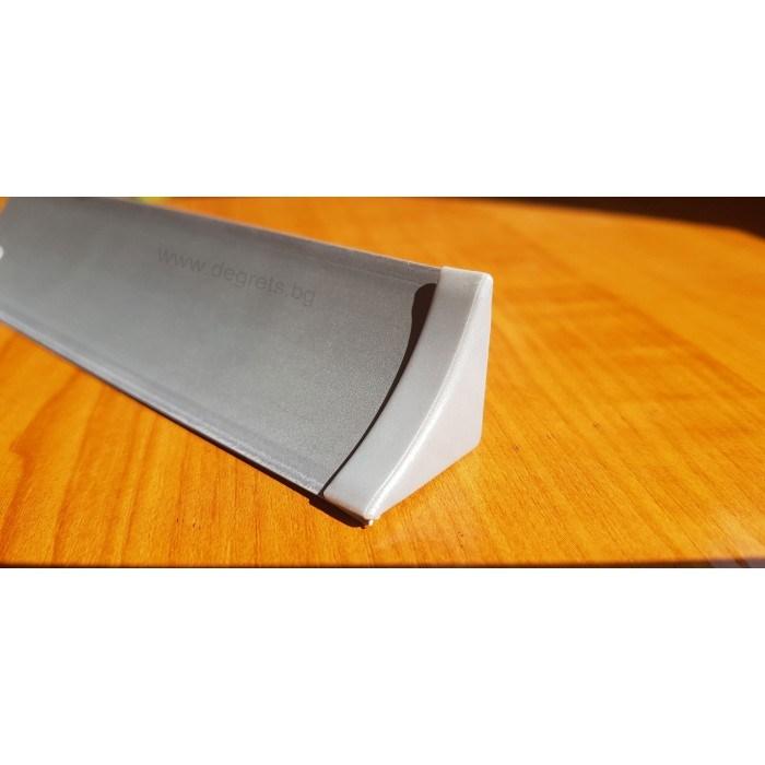 Тапа за водобранна лайсна сив металик