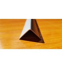 Декоративен PVC ъгъл Сив Металик 2.7 м