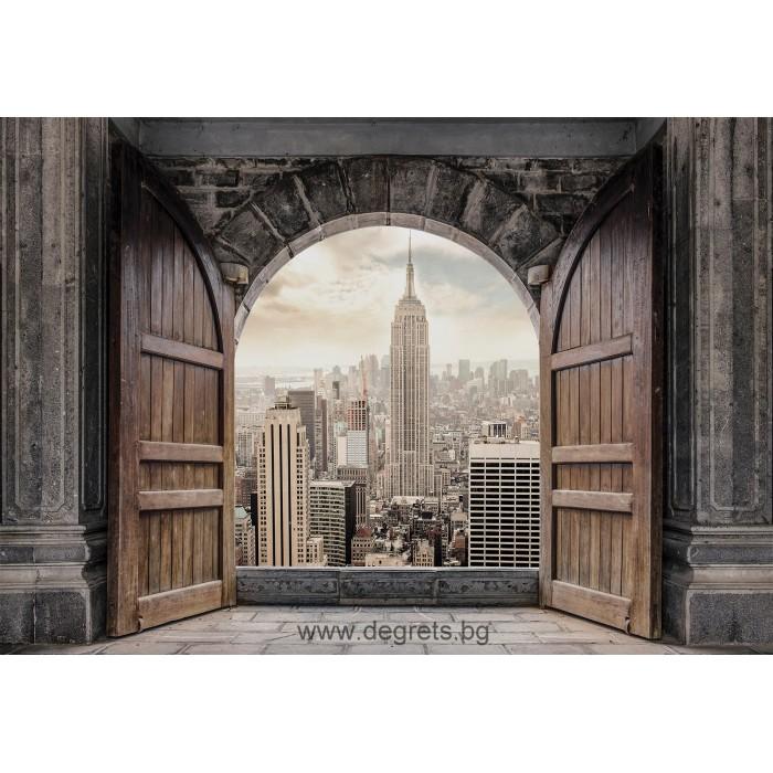 Фототапет Вход към Ню Йорк 3D L