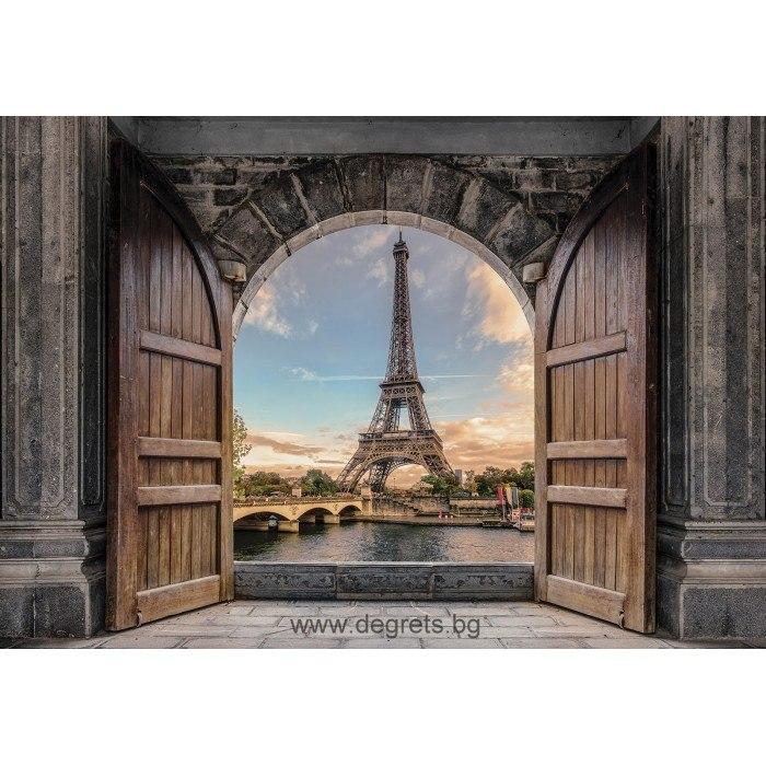 Фототапет Вход към Париж 3D XL