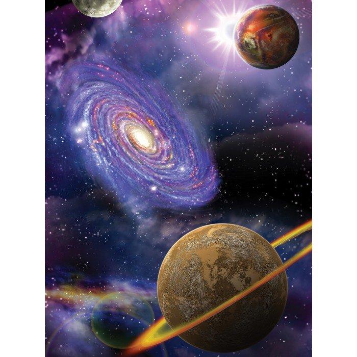 Фототапет Планети 3D