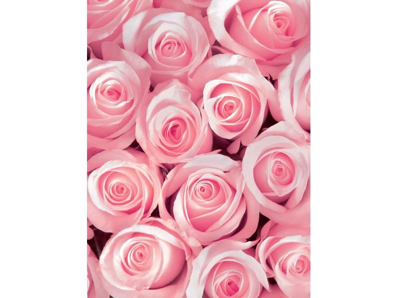 Фототапет Розови рози 3D