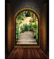 Фототапет Райска градина 3D