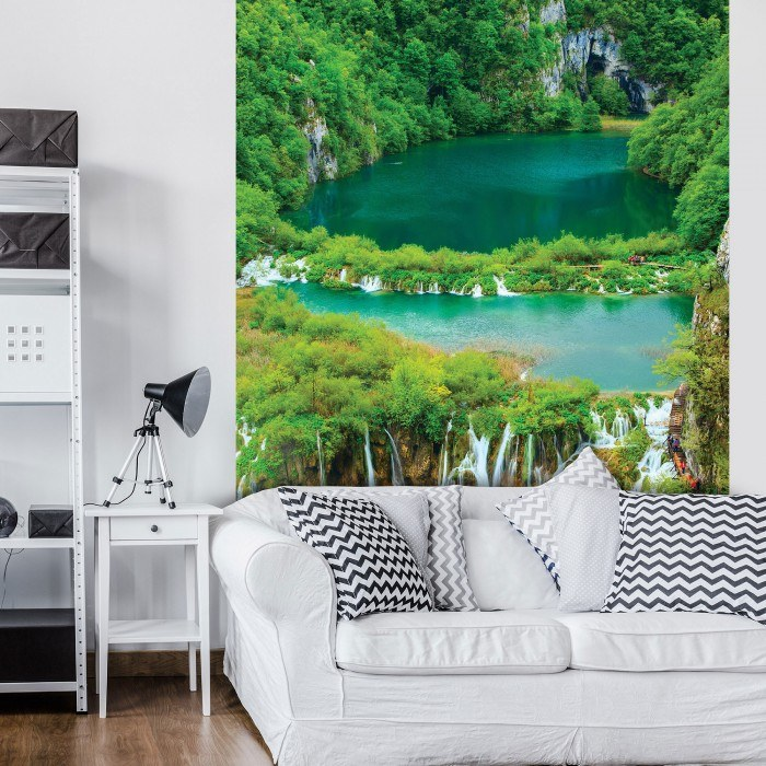 Фототапет Водопад в джунглата L 2
