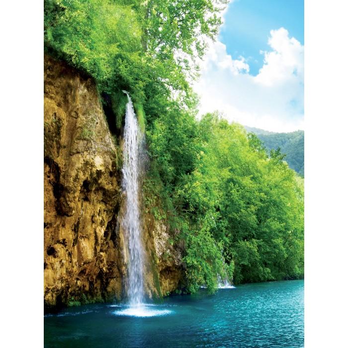 Фототапет Водопад при езерото L 2