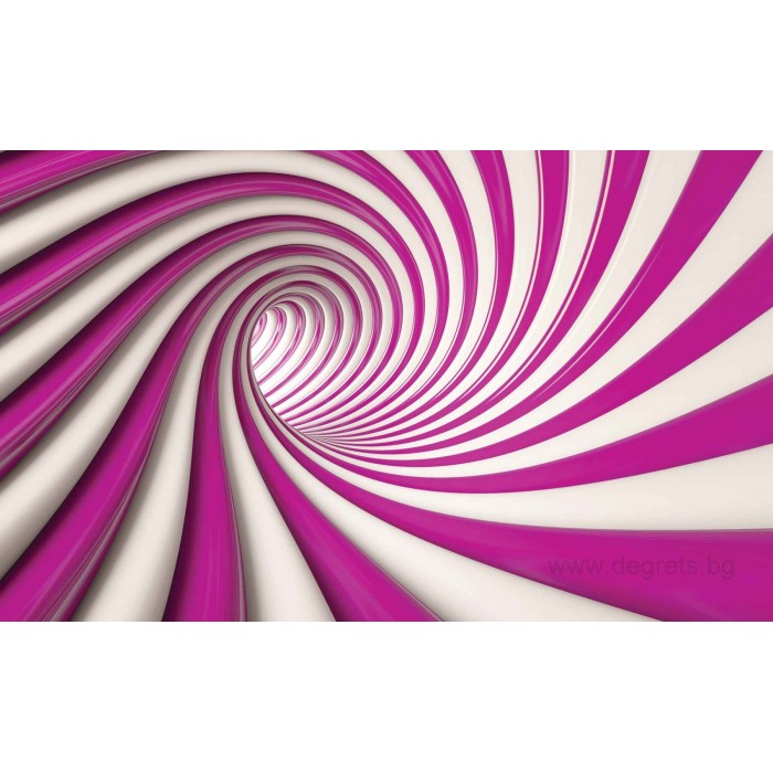 Фототапет Абстракция Въртене 3D