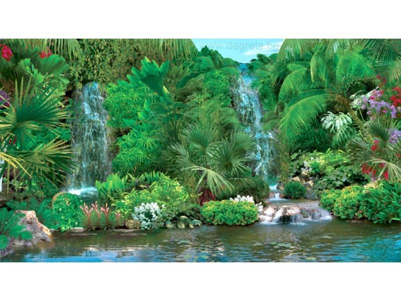 Фототапет Водопад хармония