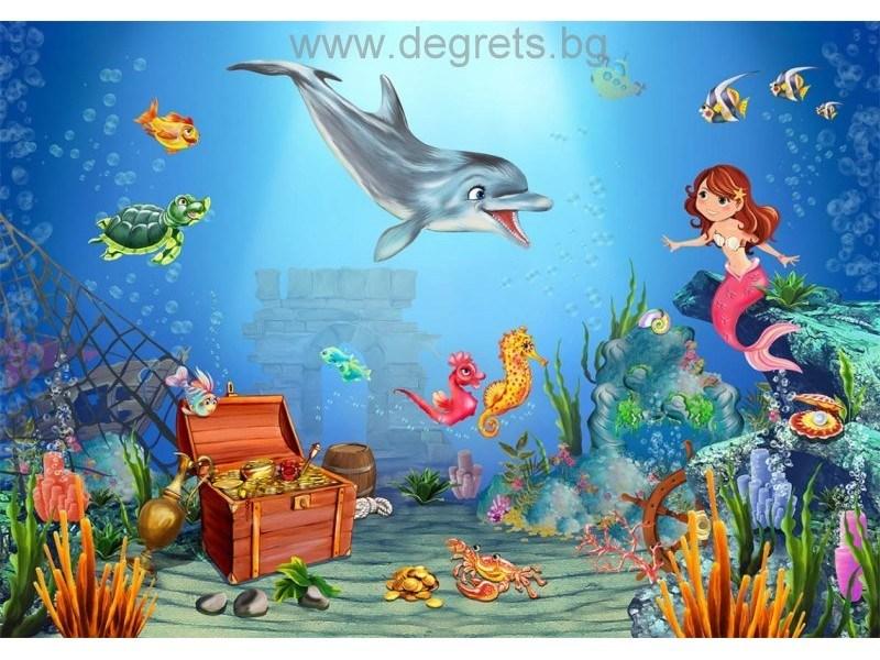 Фототапет Морски свят
