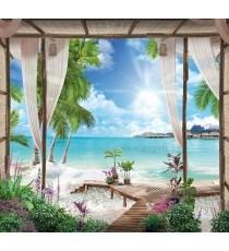 Фототапет Тропически Рай