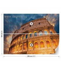 Фототапет Колизеумът в Рим
