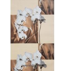 Тапет PVC Орхидея бежов