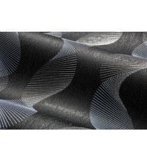 Тапет винил Ара спирала 3D черен