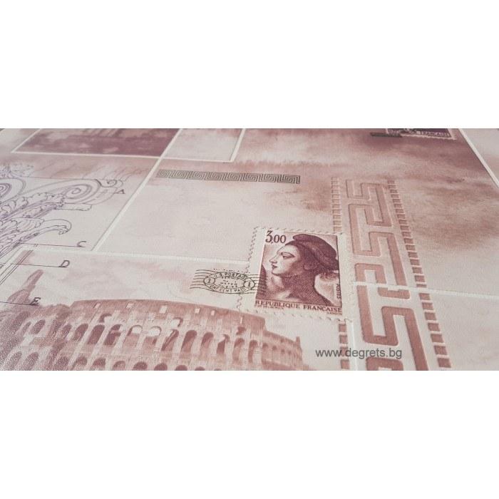 Тапет ПВЦ Рим - Версаче бежов