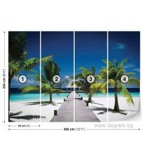 Фототапет Плажен курорт XL