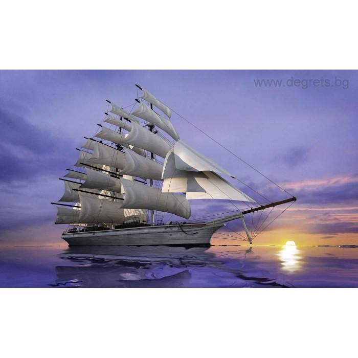 Фототапет Пътешествие с кораб