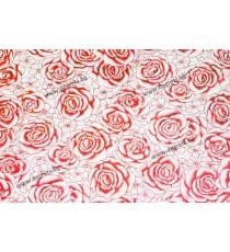 Силиконова мушама Червени рози