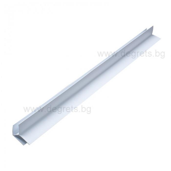 PVC профил външен ъгъл бял 3 метра