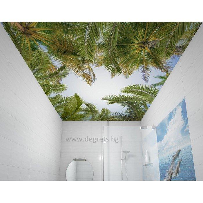 PVC ламперия Палми декор 3D ефект