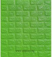 Самозалепващ 3D тапет зелен