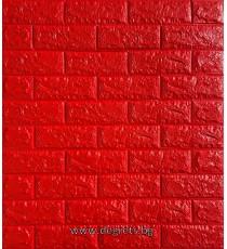 Самозалепващ 3D тапет червен