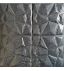 Самозалепващ 3D тапет черен Кожа