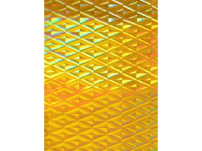 Фолио 45 см Жълт металик