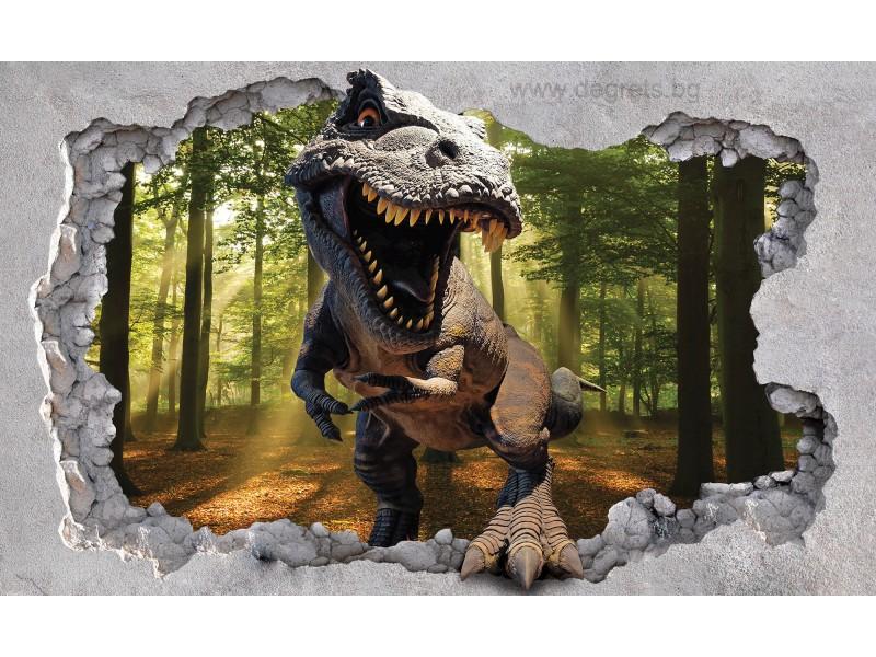 Фототапет Динозавър 3D XL