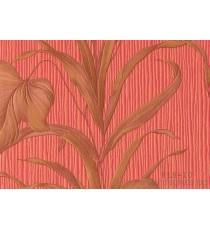 Тапет PVC Палма червен